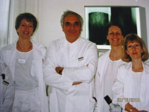 medical staff USZ Frauenpoli 1994