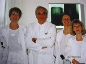medical staff USZ Frauenpoli 1994